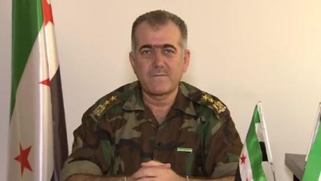abdul jabbar akidi free syrian army intv amanpour_00000000