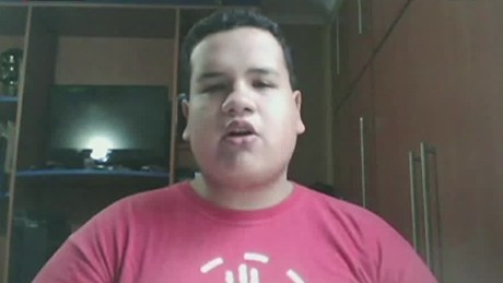 cnnee cafe montero intv pedro luis contrera venezuela oea student protest_00014419