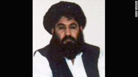 Taliban leader Mullah Mansour is shown in this undated file photo.