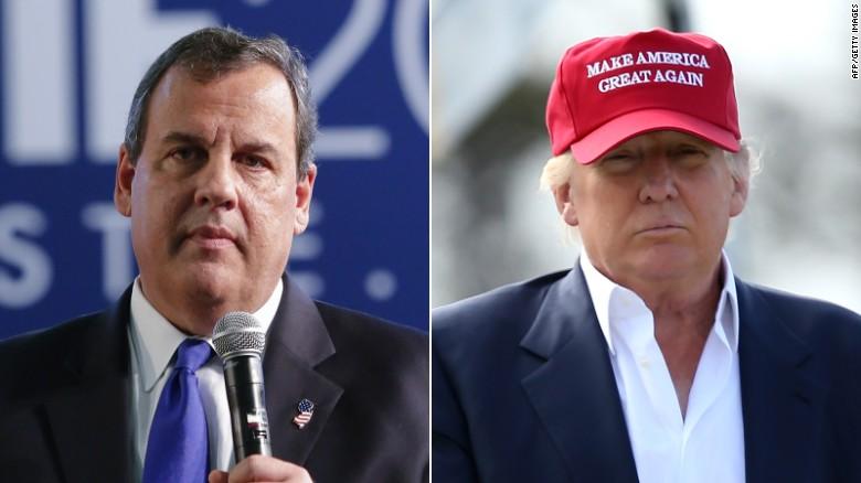 Chris Christie endorses Donald Trump