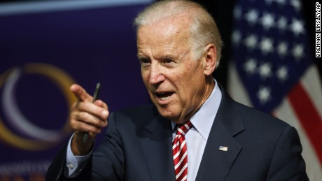 Vice President Joe Biden speaks during a roundtable discussion at the Advanced Manufacturing Center at Community College of Denver, Tuesday, July 21, 2015.