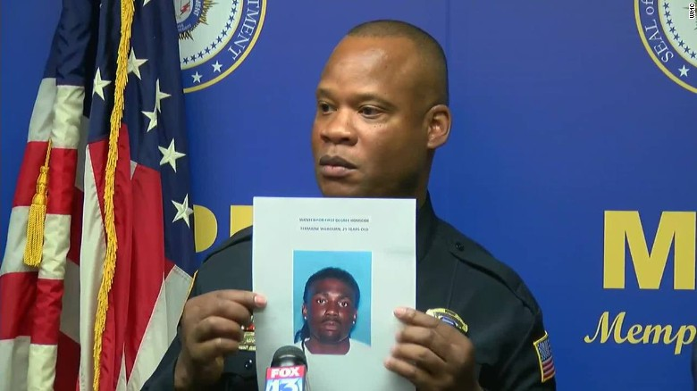 Shooting Update: Memphis Police Officer Killed; Suspect Identified