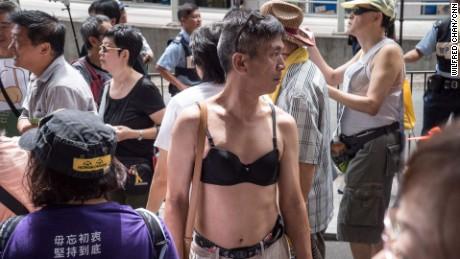 hong kong breast protest 3