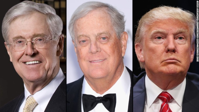 Koch brother: Trump plan would 'destroy free society' | Spacebattles ...
