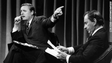 Gore Vidal and William Buckley debate, November 5, 1968.