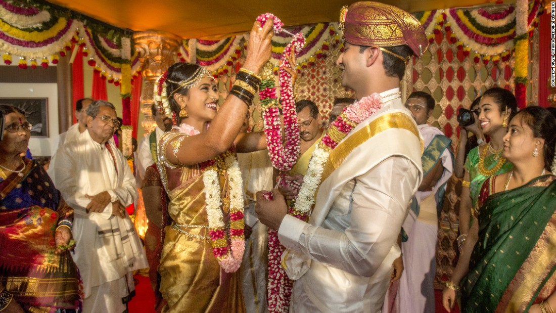 What Does Every Indian Wedding Need? Gold (and Lots Of It