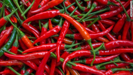 A new study from China has found that eating spicy food may have health benefits.