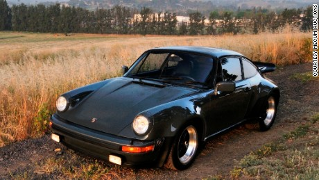 1976 Porsche 930 Turbo Carrera once owned by late actor Steve McQueen