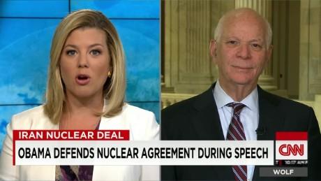 exp Sen. Cardin Debates Iran Nuclear Deal_00002001