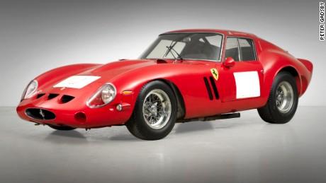 Race-winning 1962 Ferrari 250 GTO Berlinetta, sold for record $38 million at auction in 2014