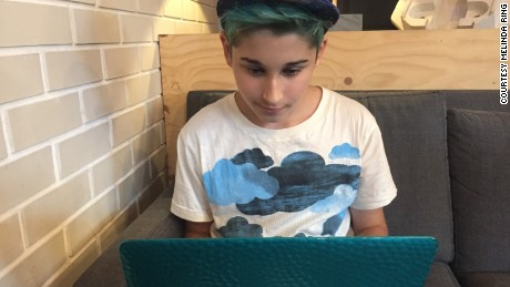 The author's son, Matthew, started using Instagram as a source of connection after developing a mood disorder; he said it helped him realize other kids were experiencing similar problems.