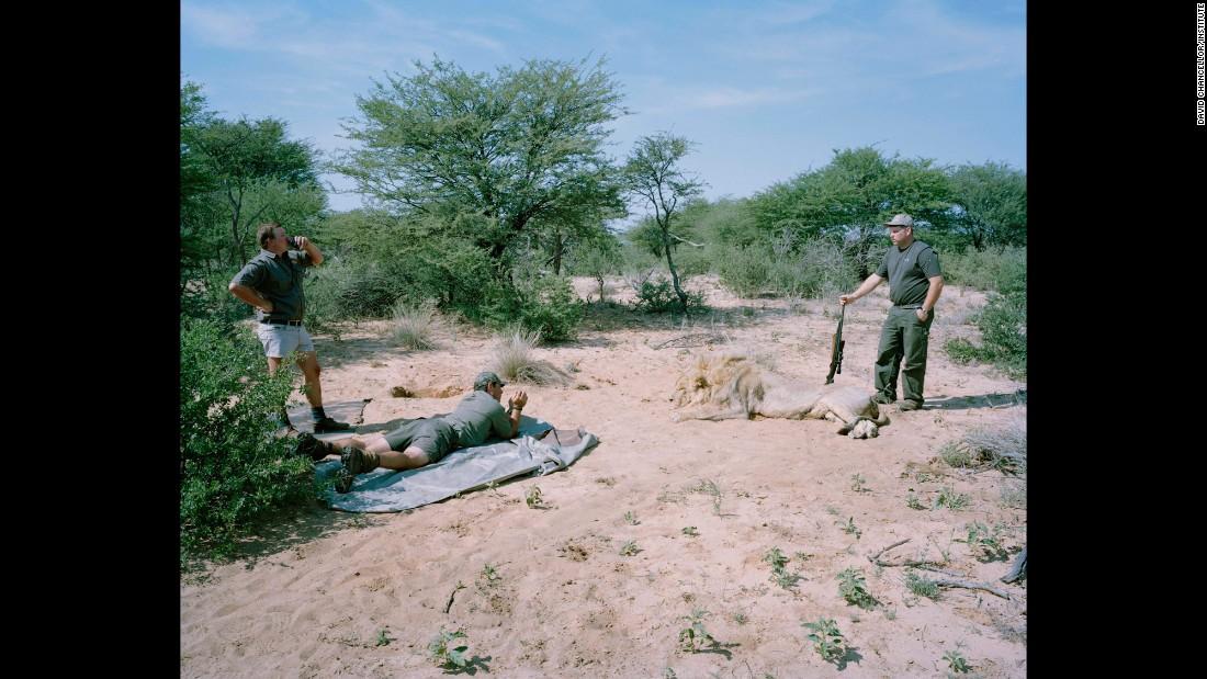 Trophy photograph, South Africa.