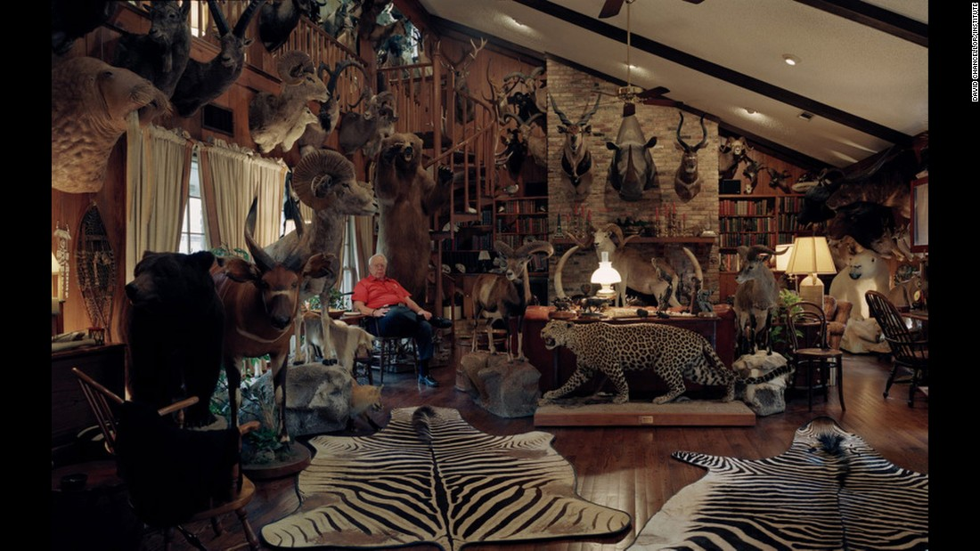 Untitled hunter trophy room No. 1, Dallas.