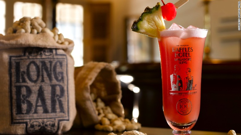 Where else is the spirit and history of a city captured in a cocktail?