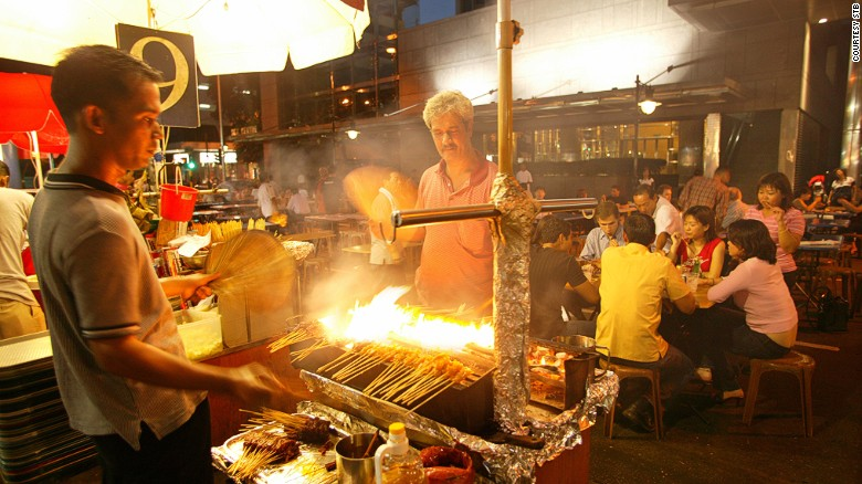 Stomach be still: authentic street food with none of the worries.