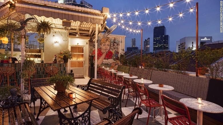 Potato Head Folk is a newcomer to Singapore's rooftop bar scene.