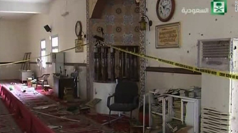 ISIS claims responsiblity in Saudi mosque blast