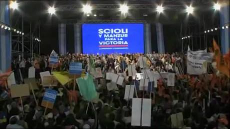 cnnee pkg sarmenti elections argentina _00000000