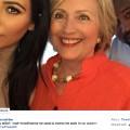 hillary clinton kim kardashian kanye selfie