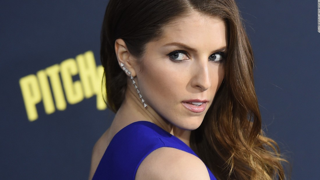"Actress Anna Kendrick arrives at the World Premiere of ""Pitch Perfect 2"" held at the Nokia Theatre L.A. Live on Friday, May 8, 2015, in Los Angeles."