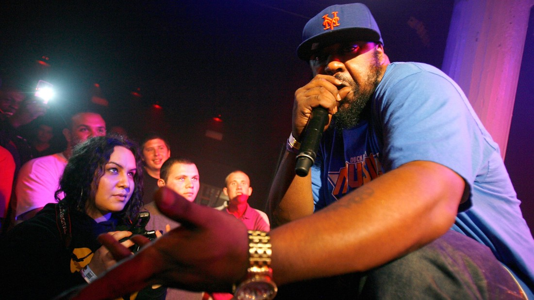 NEW YORK, NY - JUNE 13: Rapper Sean Price performs during the 2012 Rock the Bells Festival press conference and Fan Appreciation Party on at Santos Party House on June 13, 2012 in New York City.  (Photo by Mike Lawrie/Getty Images)