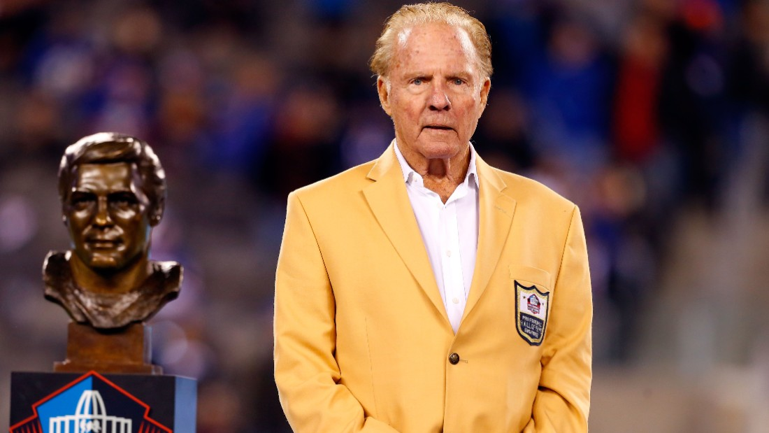 EAST RUTHERFORD, NJ - NOVEMBER 03:  (NEW YORK DAILIES OUT)   Hall of Famer Frank Gifford looks on during a halftime ceremony of a game between the New York Giants and the Indianapolis Colts on November 3, 2014 at MetLife Stadium in East Rutherford, New Jersey. The Colts defeated the Giants 40-24.  (Photo by Jim McIsaac/Getty Images)