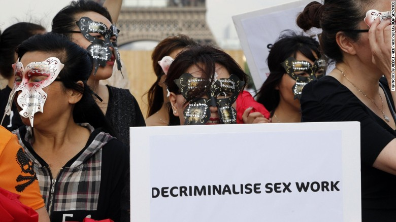 Amnesty International votes in support of decriminalizing sex trade