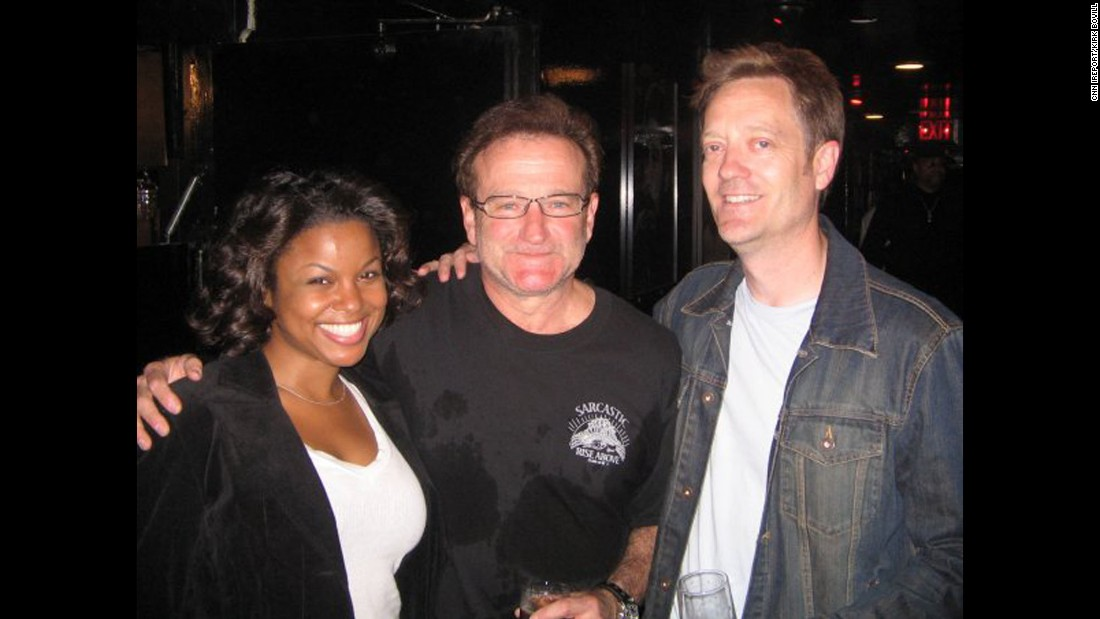 "After finishing a set at Los Angeles' Comedy Store in 2006, <a href=""http://ireport.cnn.com/docs/DOC-1160690"">Kirk Bovill </a>realized Williams was watching from the back entrance. Their producer invited Williams to come on stage, and he did a set with the whole group."