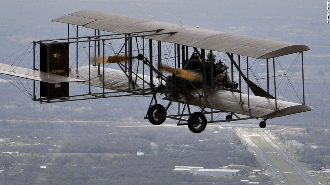 "Want to experience flying the way the Wright brothers did? Travel to Dayton, Ohio, and climb aboard a look-alike of the Wright brothers' first factory-built plane: the Wright ""B"" Flyer."