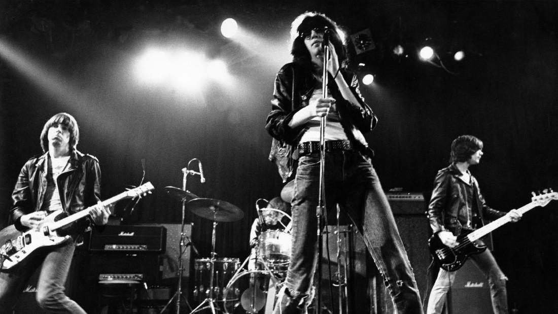 The Ramones  circa 1970.