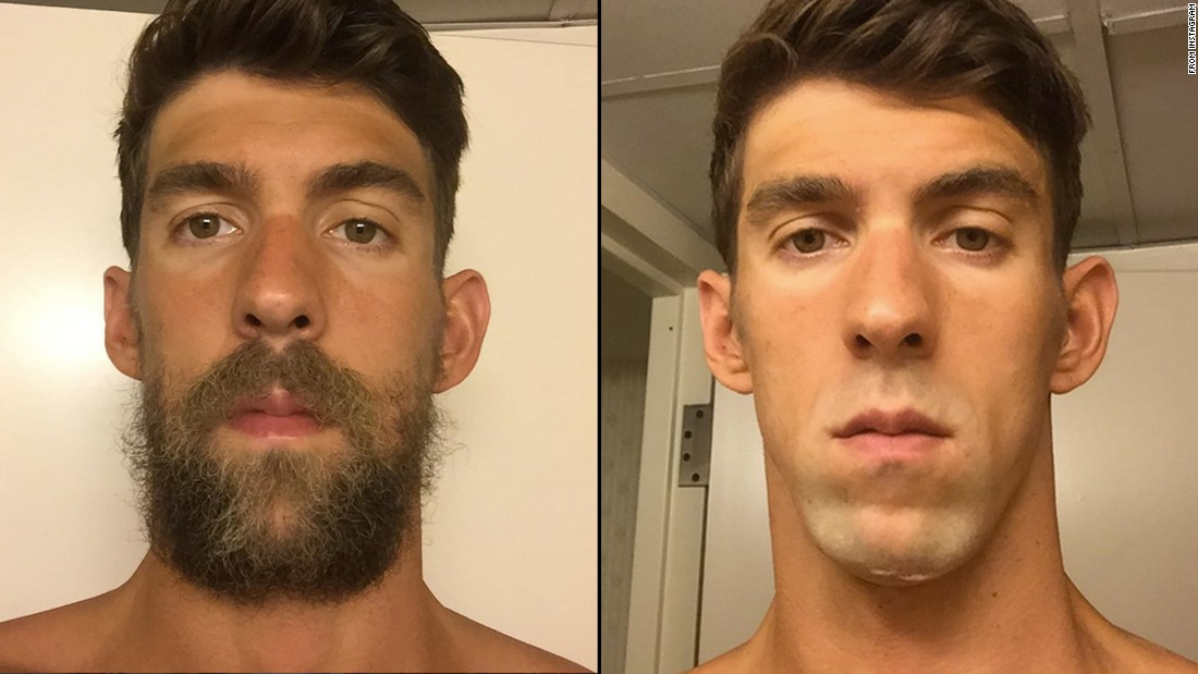 beard grooming before and after hilarious before and after shaving looks for movember alan 39. Black Bedroom Furniture Sets. Home Design Ideas