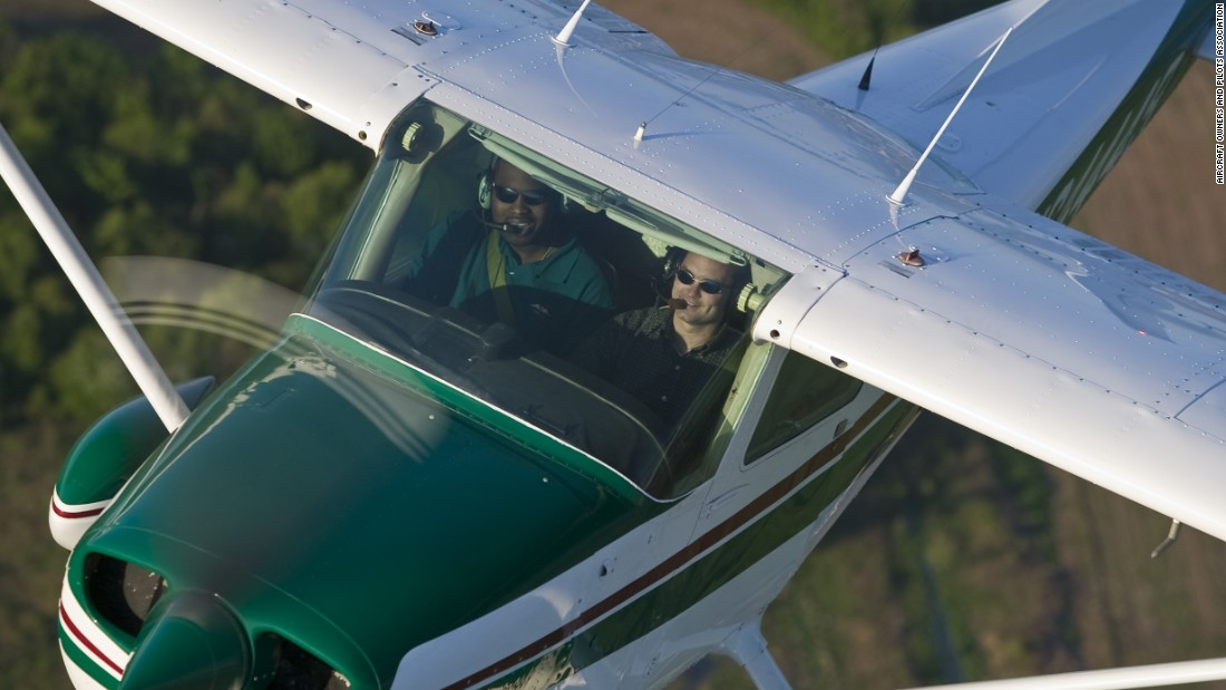For the hard-core aviation enthusiast, there's the do-it-yourself option: take a flying lesson. Research local flight schools and take an hourlong introductory flight in a small plane with a certified flight instructor. Watch out, you might get hooked.