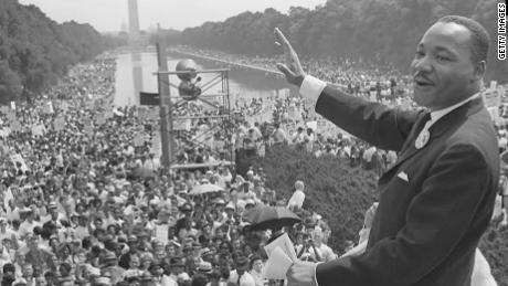 Recording of early MLK 'dream' speech discovered