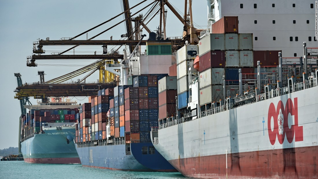 """Some emissions can't be tied to a particular country. These """"bunker fuels,"""" in industry-speak, include ships in international waters as well as international flights, according to the World Resources Institute. They account for 2.2% of climate change emissions."""