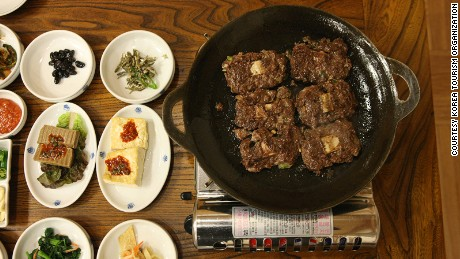 """Why don't we take this perfectly fine galbi, grind it up and put it back together?"" Sounds like a dumb idea, till you try it."