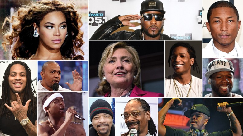 What hip-hop lyrics tell us about Hillary Rodham Clinton