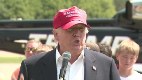Trump criticizes Jeb at Iowa State Fair