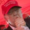 Donald Trump Iowa State Fair eating