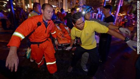 Explosion in Bangkok