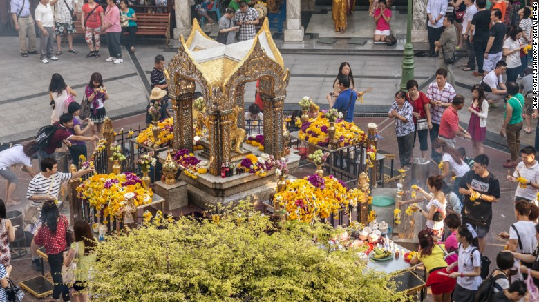 Bangkok blast: What is the Erawan Shrine?  Latest News, Star Gist, Crime, Sc...