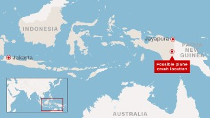 Indonesia plane crash: Weather hampers searchers trying to reach debris