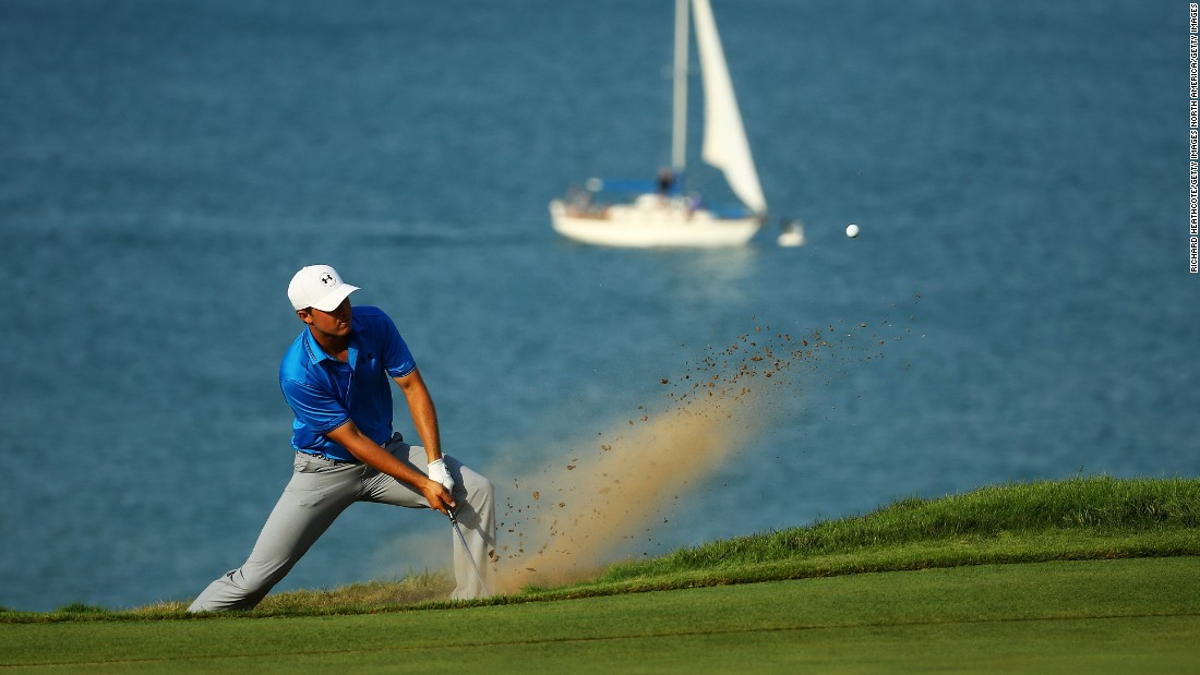 Day won by three shots from American Jordan Spieth, who became the new world No. 1 despite failing to win his third major title this year.