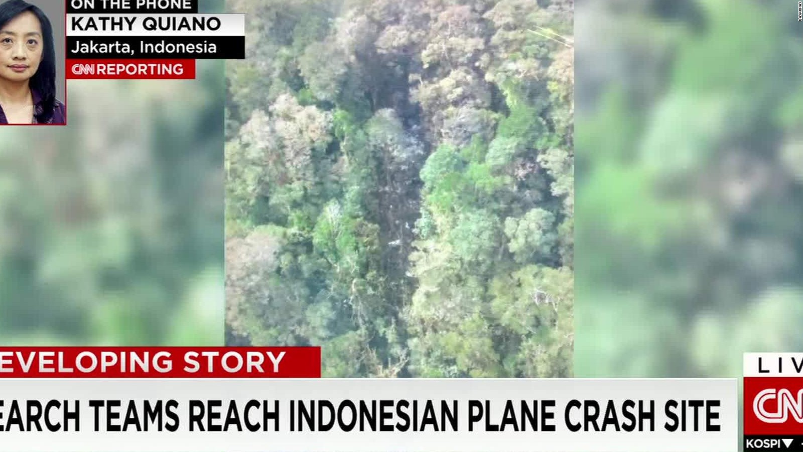 No survivors in Indonesia Trigana Air plane crash, search official says