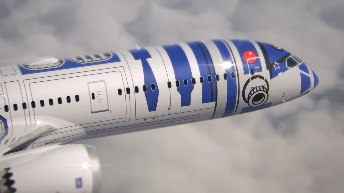 The R2-D2 ANA jet is scheduled to go into service on international routes in the fall.