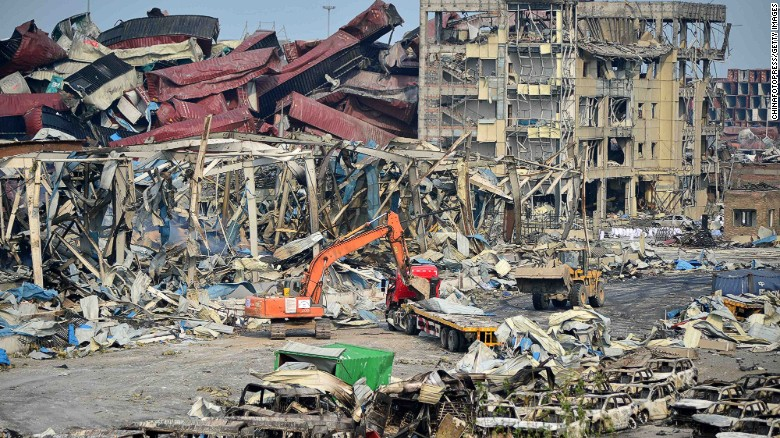 Fears of chemical contamination linger in Tianjin
