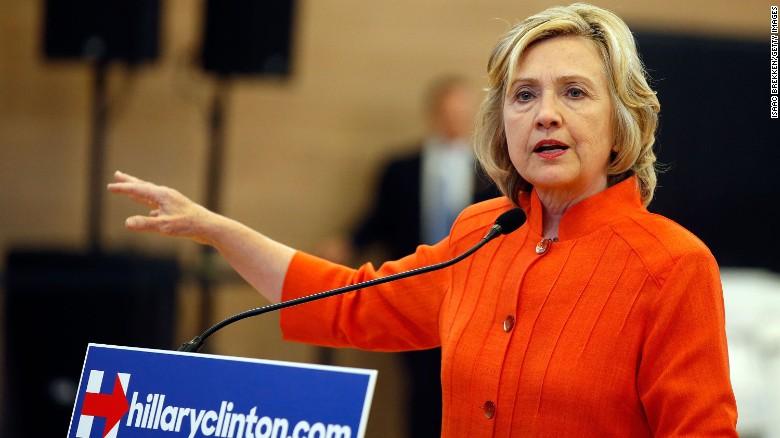 Clinton support among Democrats below 50%