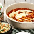 Korea spicy dishes ddeokbokki