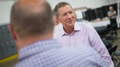 Gov. Kasich tells Democrats to 'lighten up'