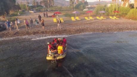 greece kos migrants crossing aegean shubert pkg_00001314