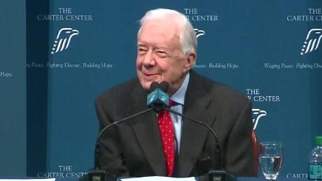 Jimmy Carter Cancer Details sot reaction_00005905.jpg